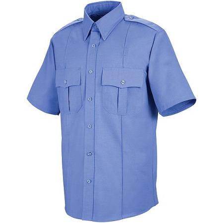 Liberty Uniforms Poly/Cotton Police Shirt, Short Sleeve