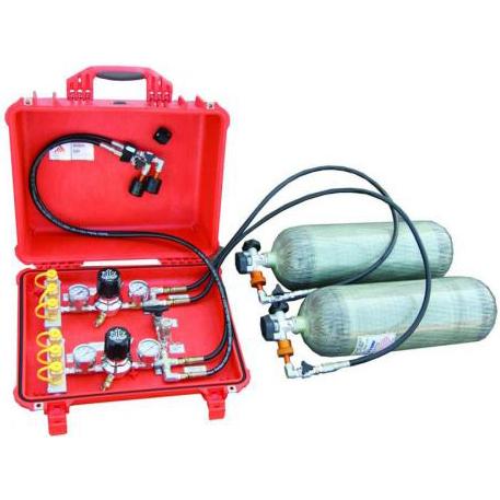 Air Distribution Box 5500 psi, Dual Independent Regulators