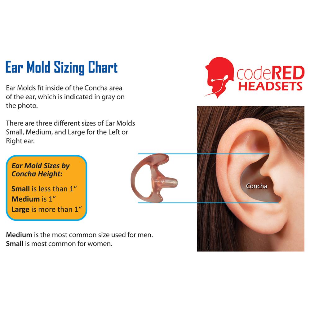 Code Red Semi-Custom Vented Earpiece