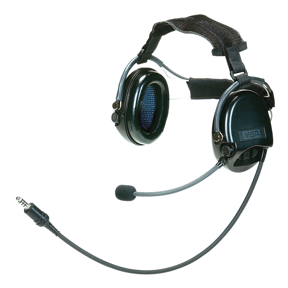 MSA Supreme Pro Headset, High Noise Communications System