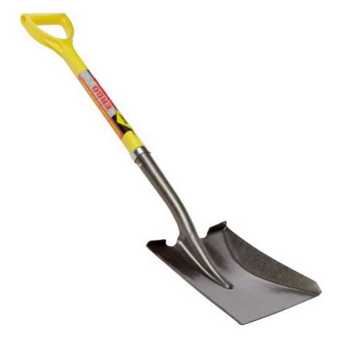 Nupla Ergo Power Square Point Shovel