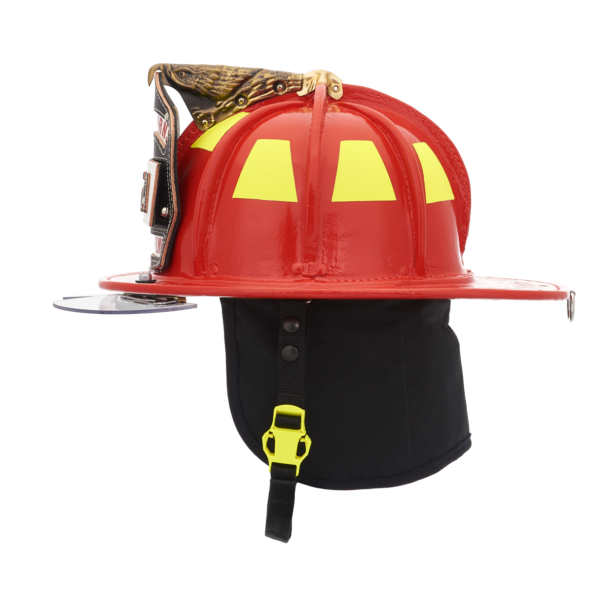 Cairns Red N6A Houston Leather Fire Helmet
