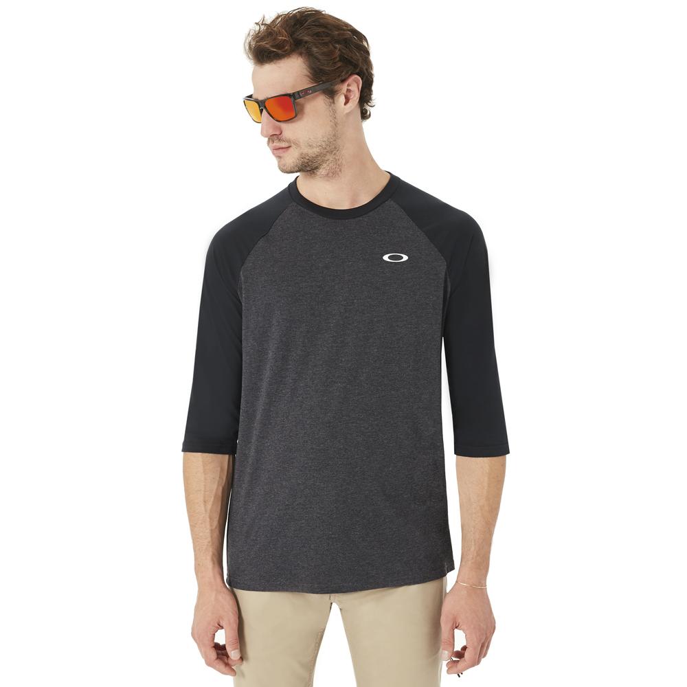 Oakley 50-SLV Raglan 3/4 Sleeve Tee Shirt