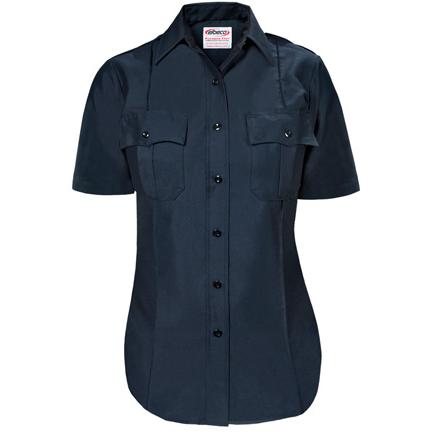 Paragon Plus Women's Premium Poplin Dress S/S Uniform Shirt