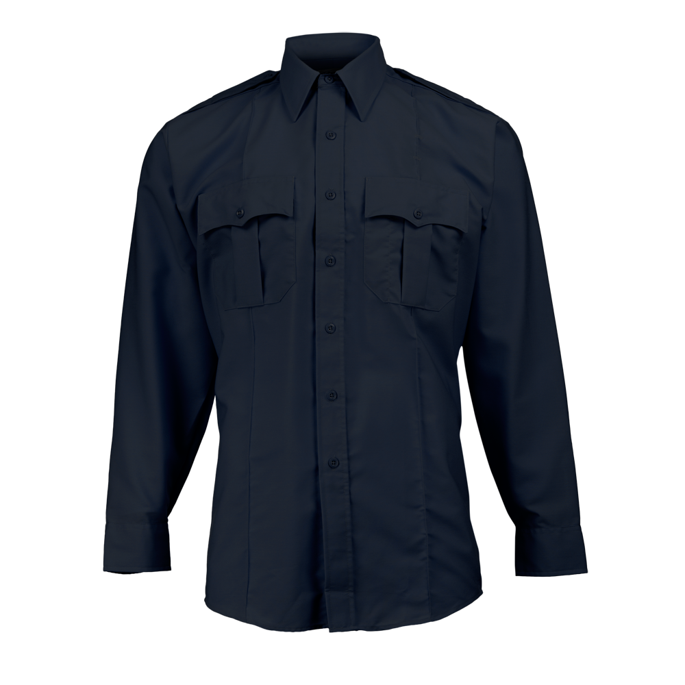 Elbeco Men's Paragon Plus Long Sleeve Uniform Shirt