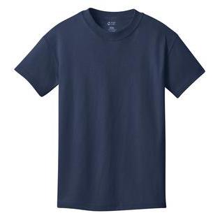 SanMar Precious Cargo Short Sleeve Cotton Youth T-Shirt, Navy
