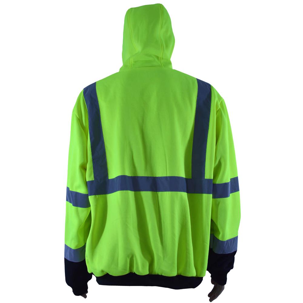 Petra Roc Hi-Viz Thermal Hooded Sweatshirt