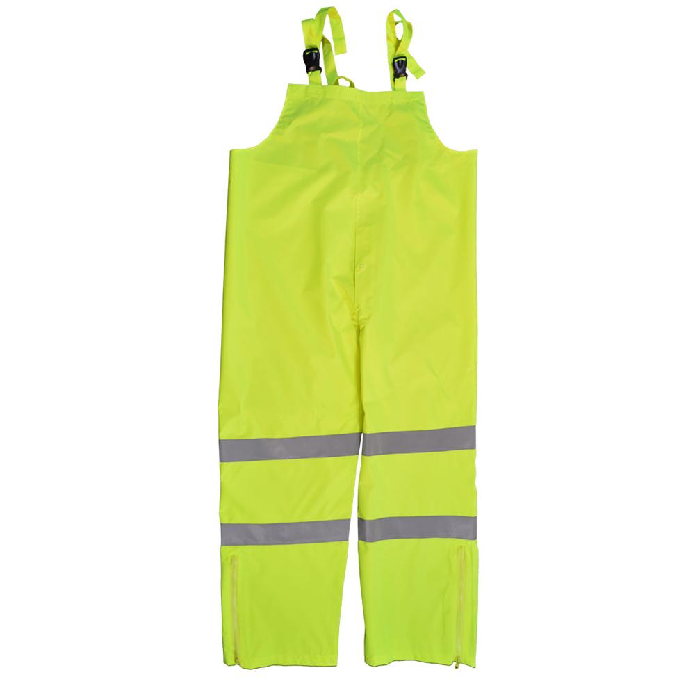 Petra Roc Hi-Viz Lime Water and Wind Proof Bib Pants