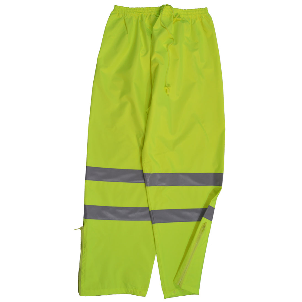 Petra Roc Hi-Viz Lime Water and Wind Proof Drawstring Pants