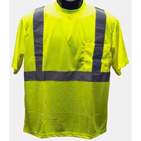 Petra Roc Lime Mesh Short-Sleeve T-Shirt ANSI/ISEA 107-2010 Class 2