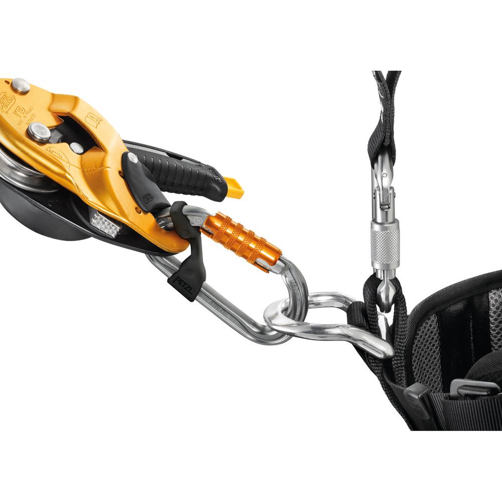 Petzl AM'D TRIACT-LOCK D-Shaped Carabiner
