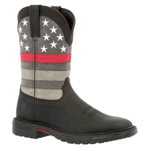 Rocky Red Line Men's Western Boots