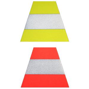 Exclusive Scotchlite Tetrahedrons, Triple Trim