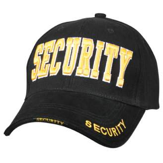 Rothco Deluxe Embroidered SECURITY Low Profile Baseball Cap