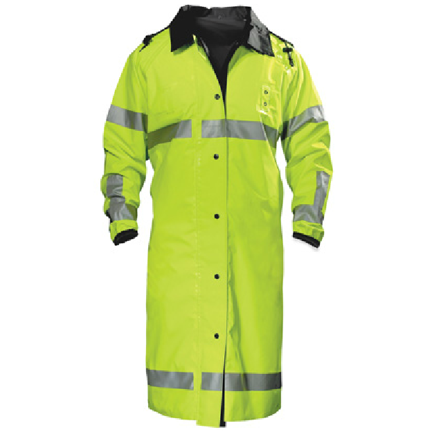 Spiewak Reversible ANSI Class 3  Long Raincoat