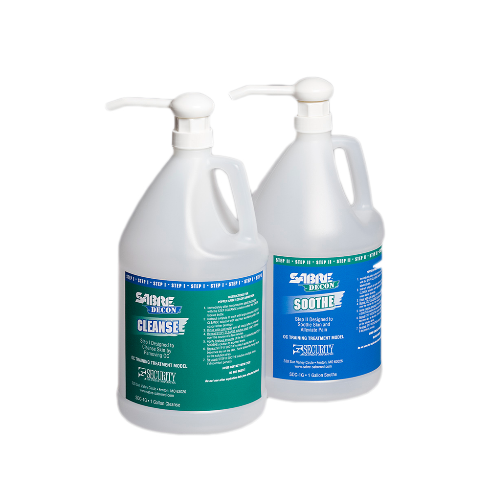 Sabre: DECON, Training/Field Treatment, Cleanse and Soothe