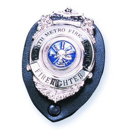 Strong Snap Closure Clip-On Badge Holder