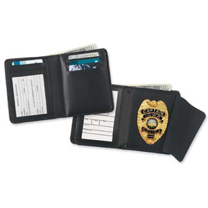 Strong Credit Card Hidden Badge Wallet