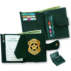 Strong Female Badge Wallet
