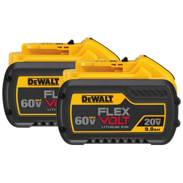 Super Vac DeWalt 9AH FlexVolt Replacement Battery