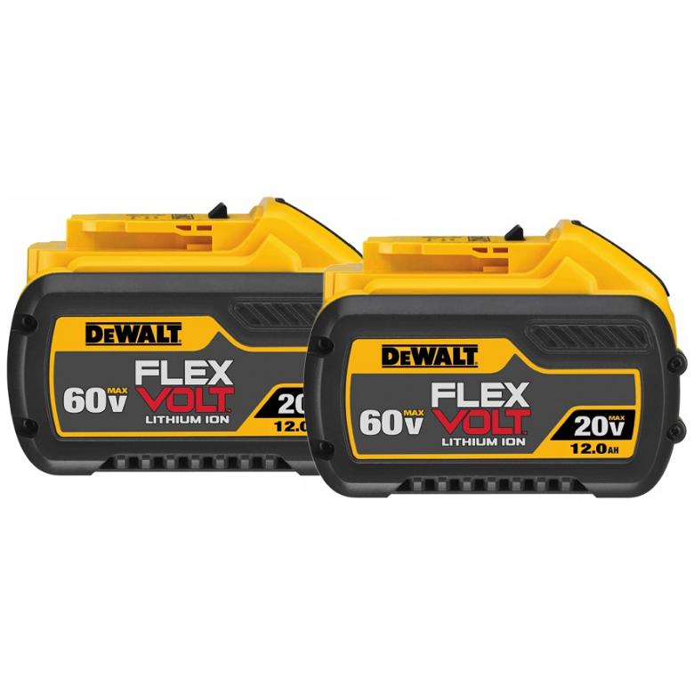 Super Vac DeWalt 12AH FlexVolt Replacement Battery