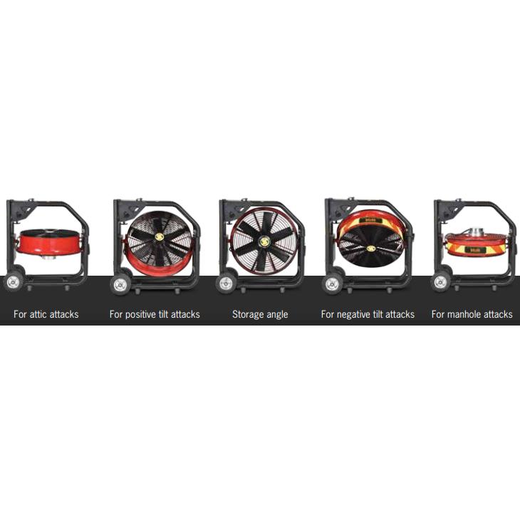 Super Vac Valor Series Battery PPV Fan