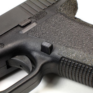 TangoDown Vickers 45 Extended Mag Release for Glock Pistols