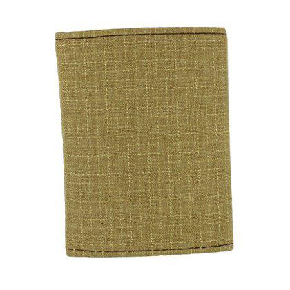 TheFireStore Exclusive Bunker Gear Trifold Wallet w/ PBI Gold Matrix, 2