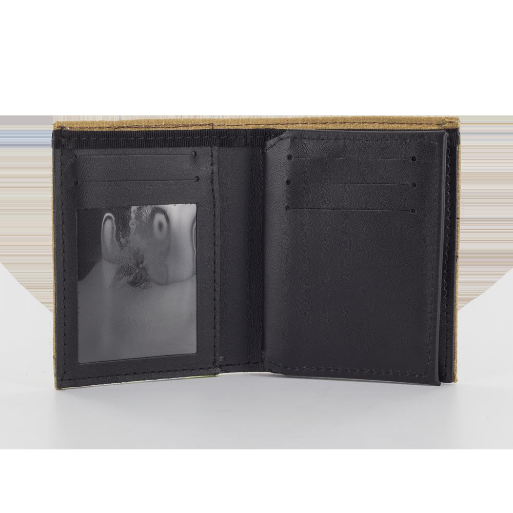Bunker Gear Bi-Fold Dress Wallet w/ 6 Credit Card Slots Flip ID