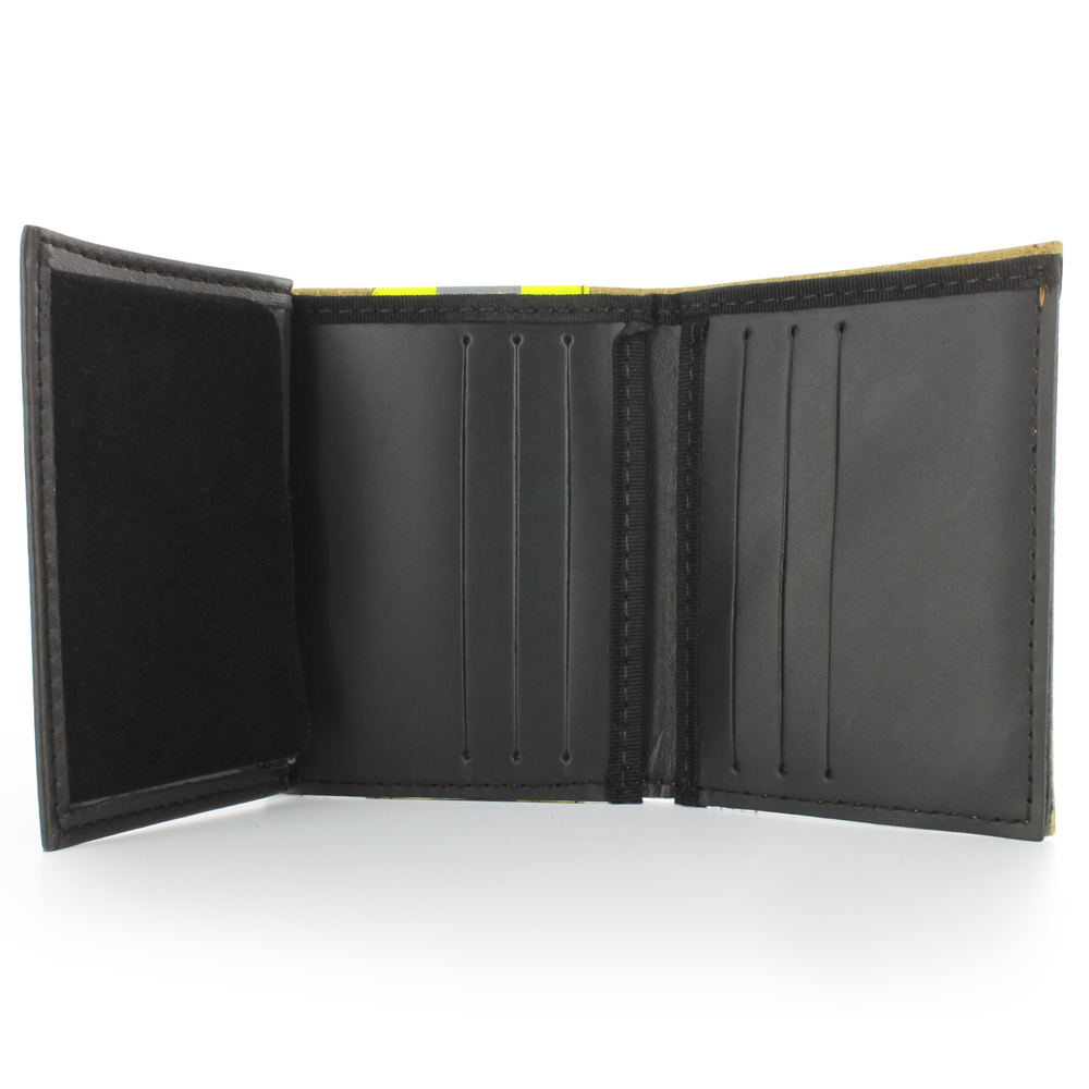 Exclusive Bunker Gear Gold PBI & Triple Trim Dress Wallet