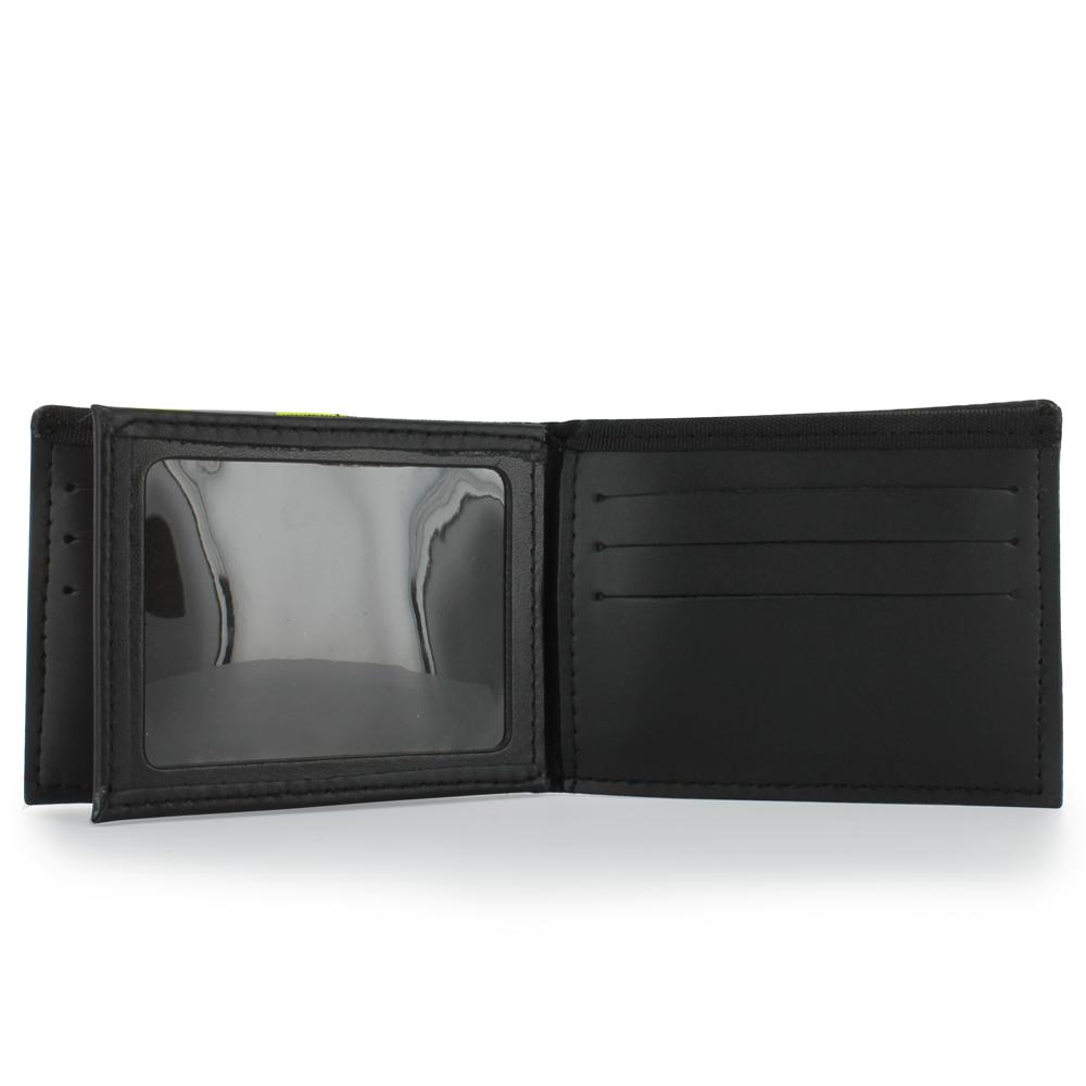 Exclusive Bunker Gear Black PBI &Triple Trim Dress Wallet