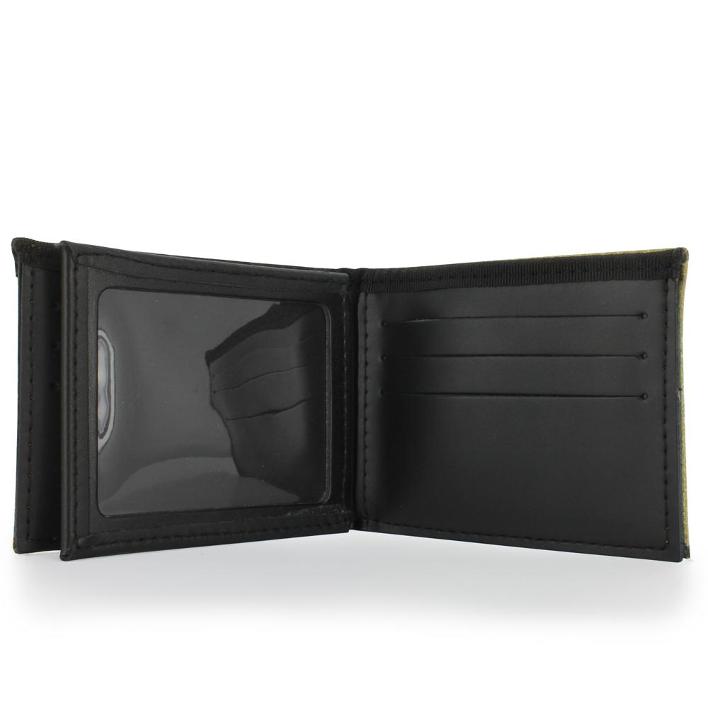 Bunker Gear Bi-Fold Wallet with 9 Credit Card Slots