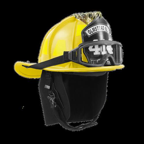 Phenix TL-2 Traditional Leather Helmet, Yellow