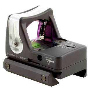 Trijicon RMR Dual Illuminated Sight, 9.0 MOA Amber Dot with RM33 Picatinny Rail Mount