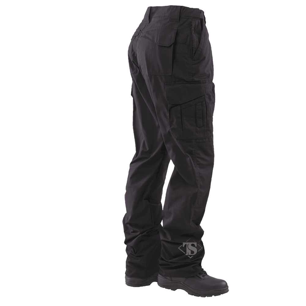 Tru-Spec Men's 24-7 Series EMS Pants, Black, Unhemmed