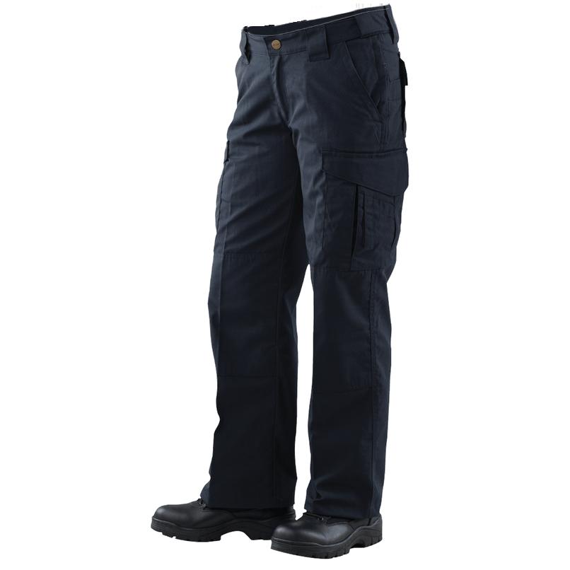 Tru-Spec Women's 24-7 EMS Pants, Navy, Unhemmed