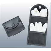 Uncle Mike's Double Latex Glove Pouch, Black