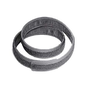 Uncle Mike's Ultra Reversible Inner Duty Belt w/VELCRO® brand Lining, Black Nylon