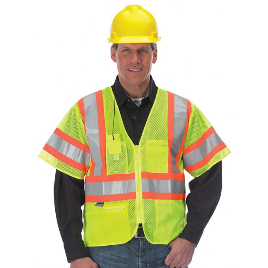 Lakeland ANSI 107-2010 Class 3 Hi-Vis Sleeved Public Safety Vest