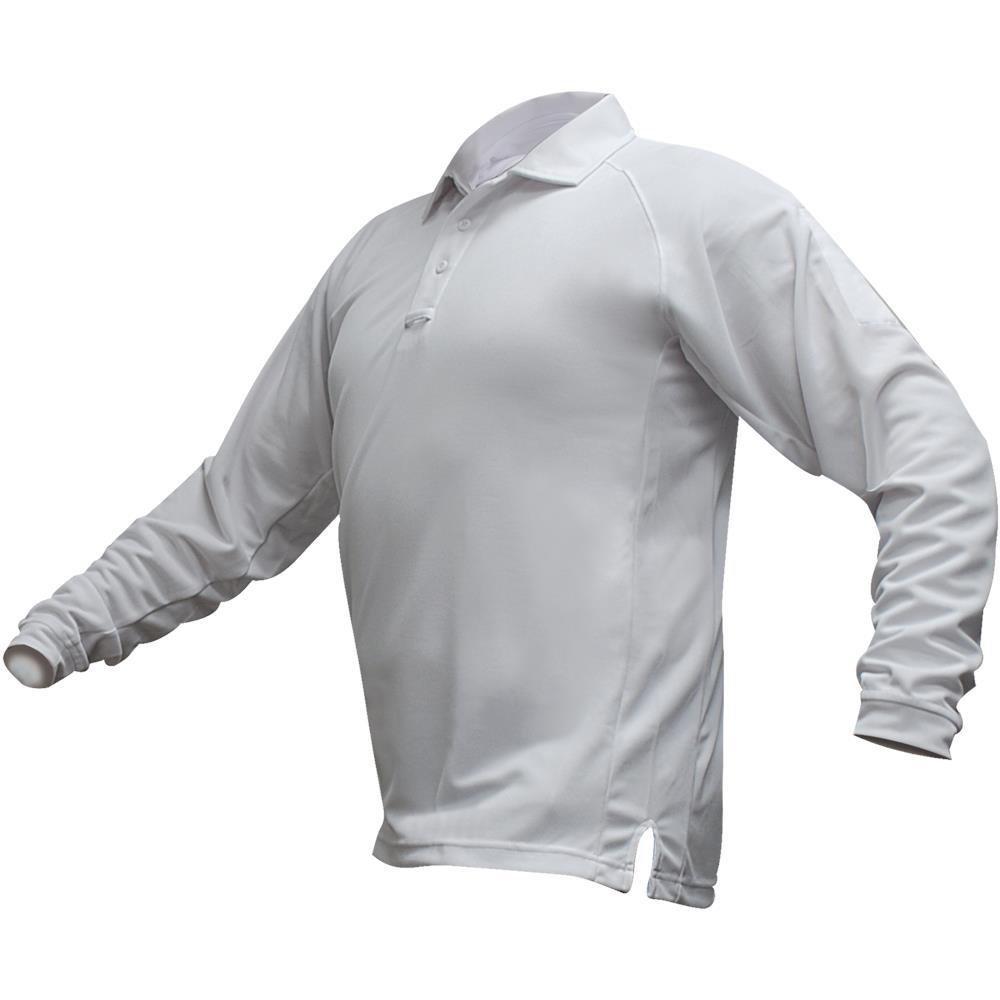 Vertx Coldblack Long-Sleeve Polo