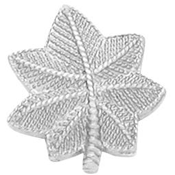 Smith & Warren Pair of Small Oak Leaf Collar Pins