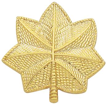 Smith & Warren Pair of Large Oak Leaf Collar Pins