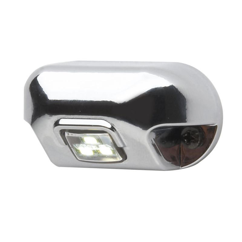 Whelen 0S Square Lens Series Single Flash