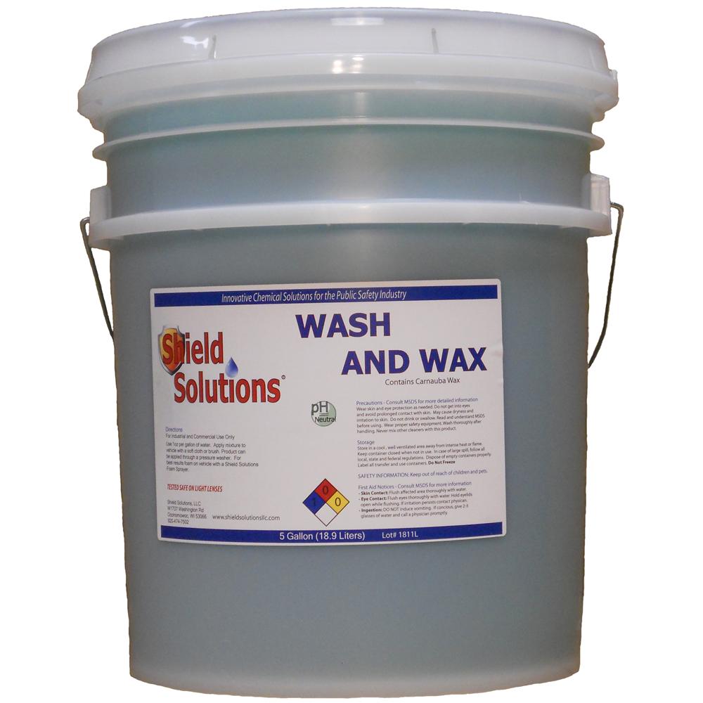 Shield Solutions Wash & Wax