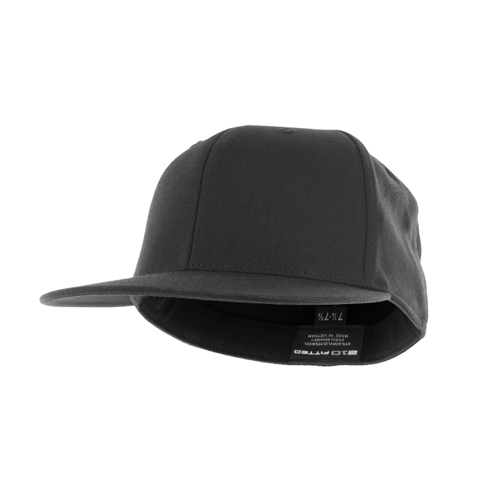 Flexfit Premium Fitted Hat with Flat Visor