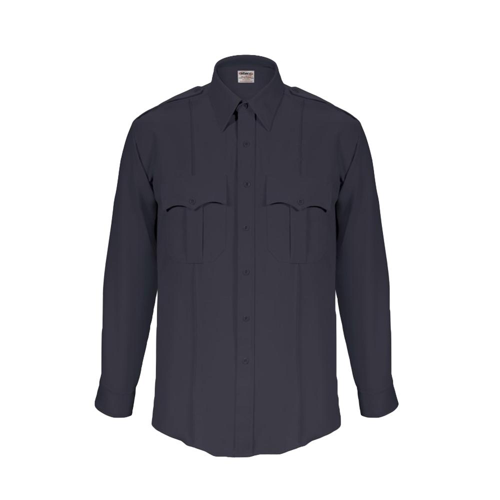 Elbeco Men's TexTrop2 Long Sleeve Shirt with Zipper Front