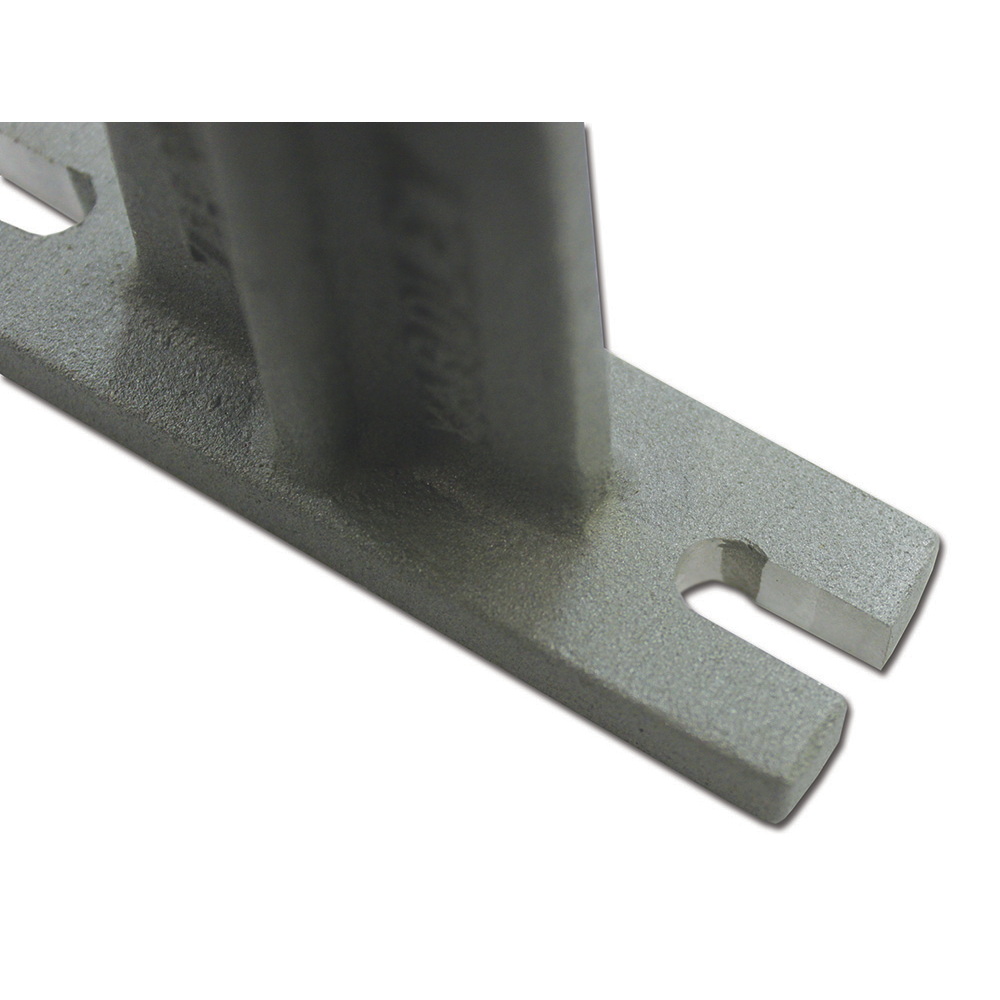 """Zico Double Horizontal Variable Mount with Slotted Mounting Holes for 1"""" to 1.6"""" Diameter Tools"""
