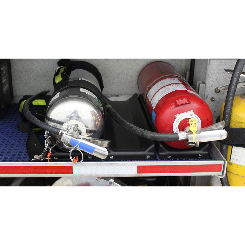 Zico Plastic Air Cylinder and Extinguisher Cradle