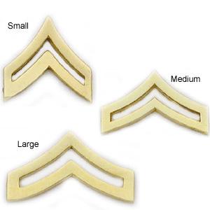 Smith & Warren Collar Pins, Corporal Chevron, Pair