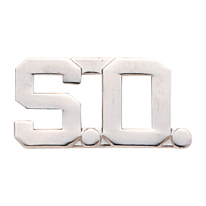Smith & Warren S.O Collar Pins w/Clutch Back Attachment